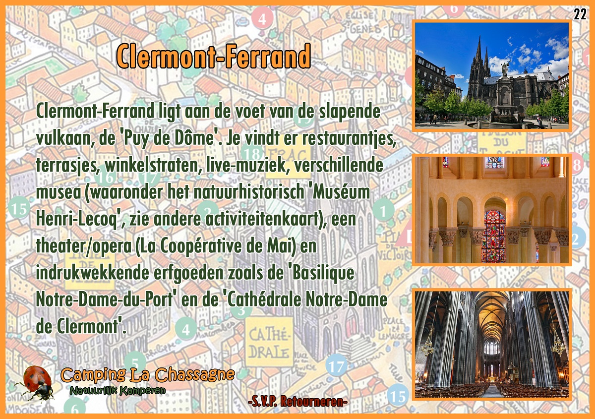 22 Clermont-Ferrand